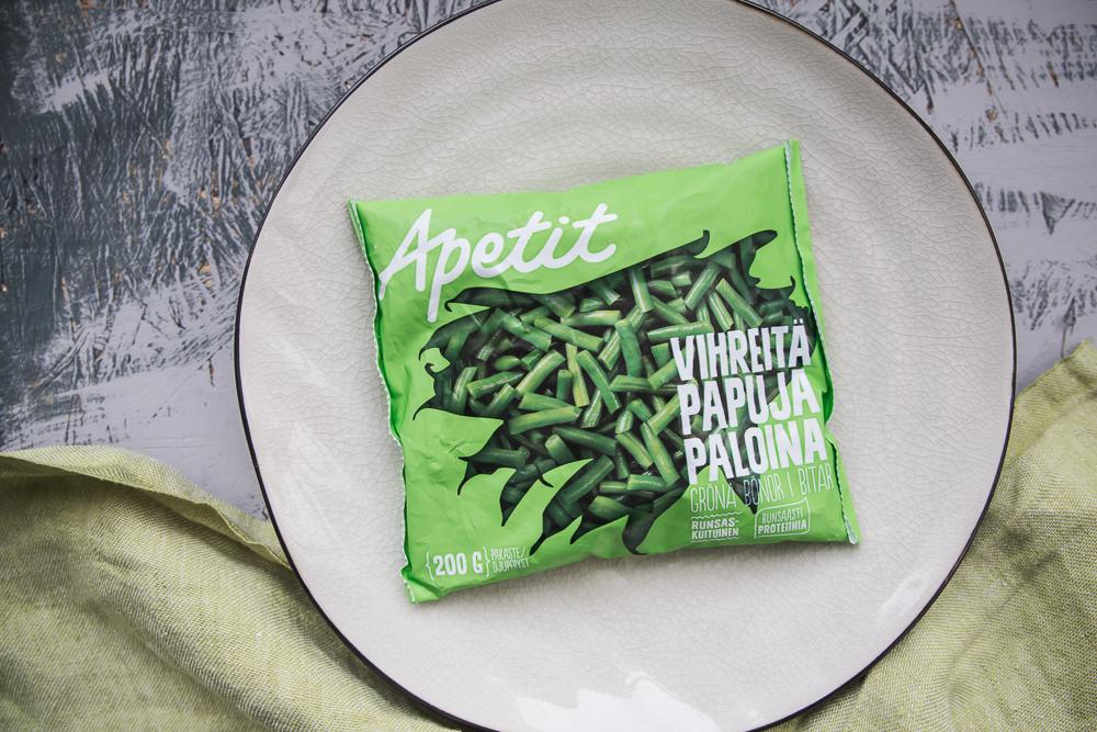 Vihreistä vihrein curry kesän vihanneksista