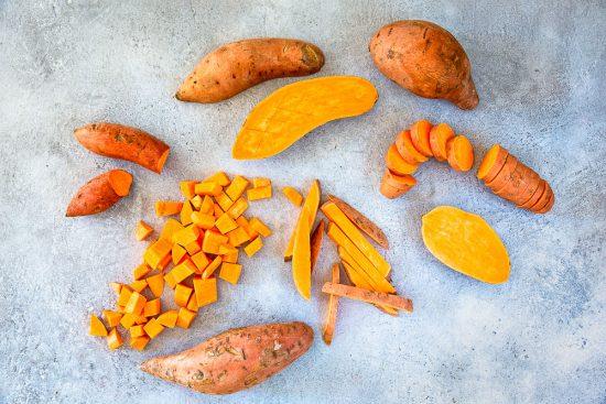 Syö juuri nyt näitä! Helmikuun Satokausi-kasvis bataatti esittelyssä