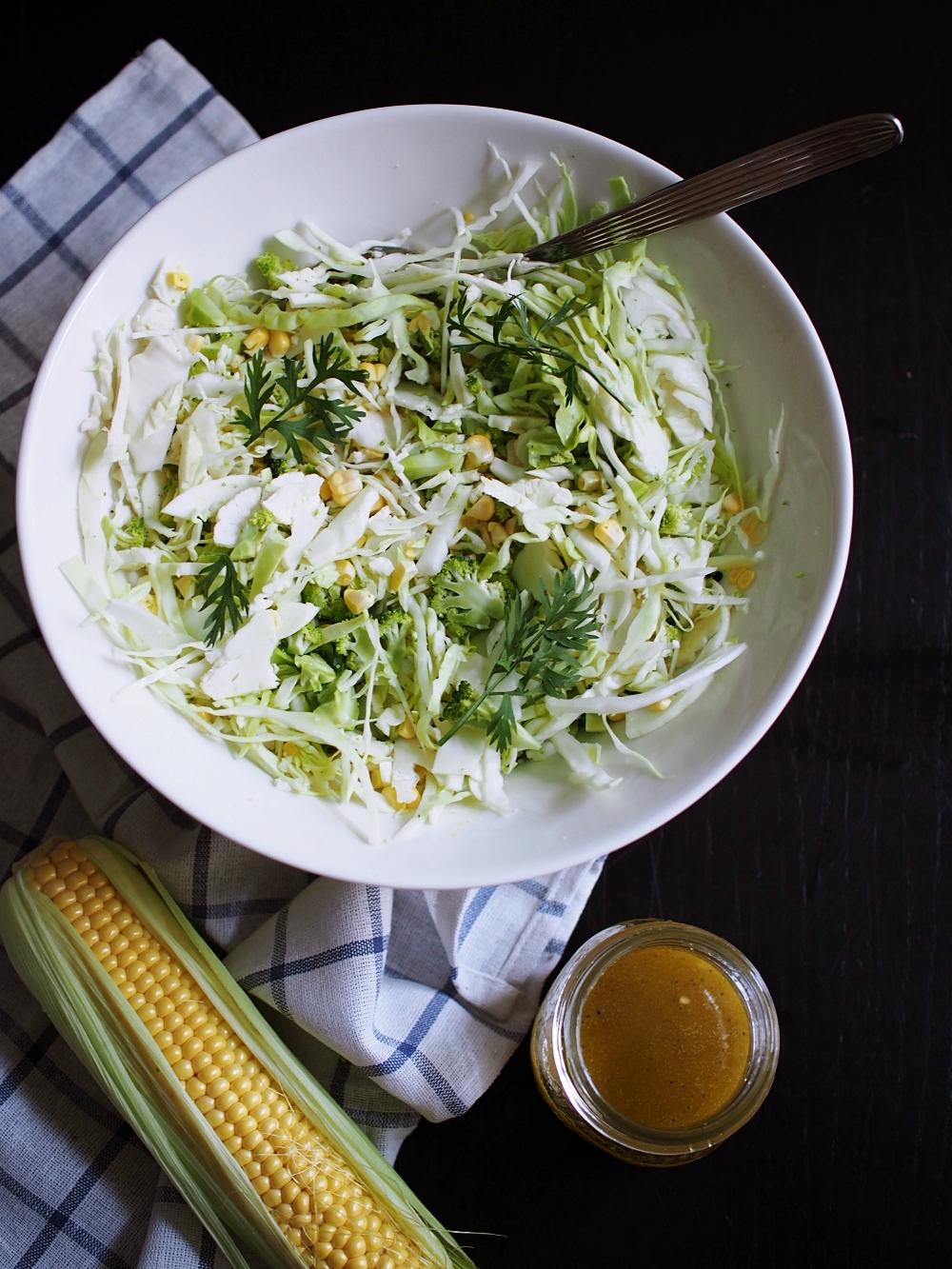 Kolmen kaalin salaatti