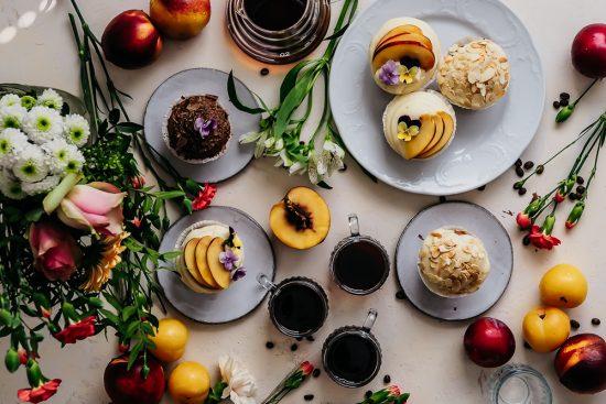 Kahvinmaistelua & kolmen sortin muffinssit
