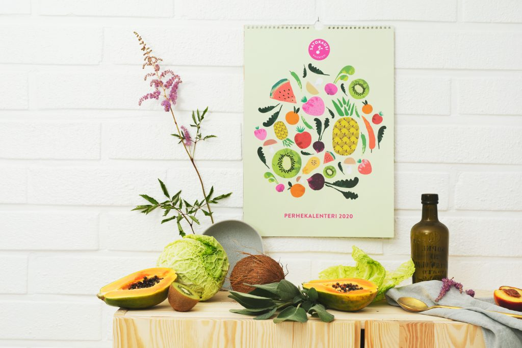 Perhekalenteri 2020 esittelyssä