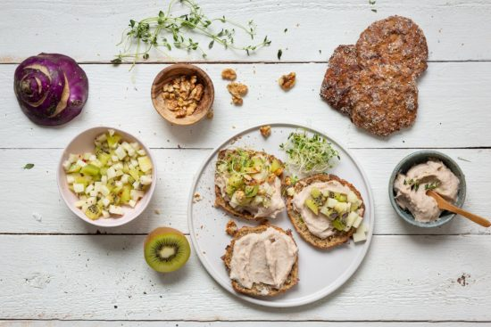 Ravintoainekoulu – täsmäisku kasvisten ja leivän avulla