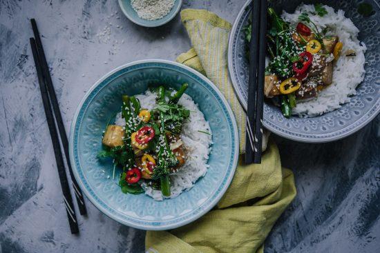 Savutofu-broccoliiniwok