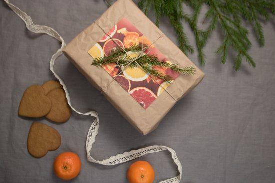 Ympäristöystävälliset joululahjat ja paketointi
